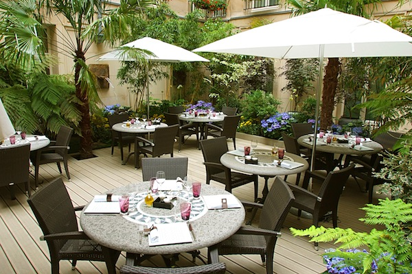 Courtyard - Sofitel Le Faubourg - Paris insider tips - My French Life™