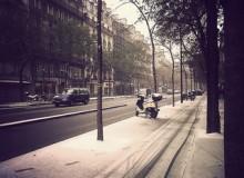 Snowy Paris - emilianofraccaroli