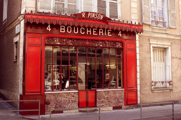 How to live like a local home owner in France - MyFrenchLife.org - Nomador - Boucherie