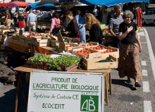 MyFrenchLife™ - organic food - Marché de Nyons